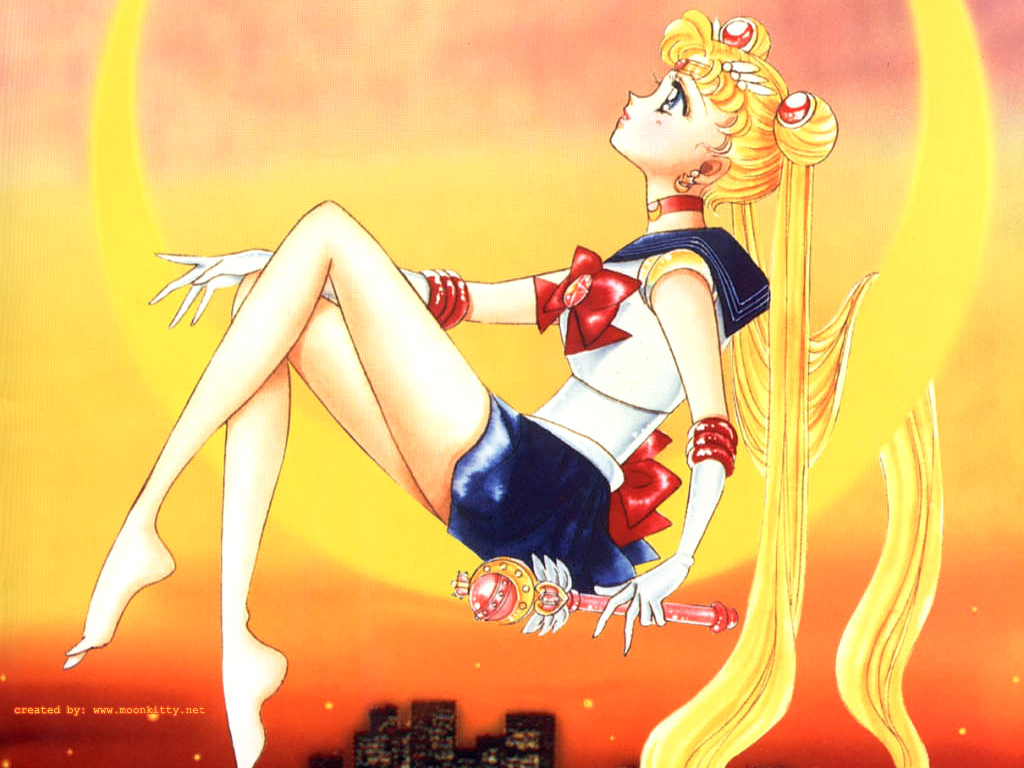 Sailor Moon Live Streaming On Hulu!!