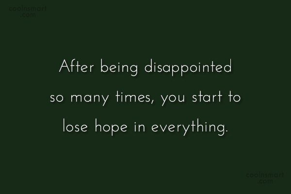 disappointment quotes and sayings images pictures