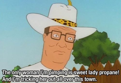my favorite hank hill quote of all time meme guy