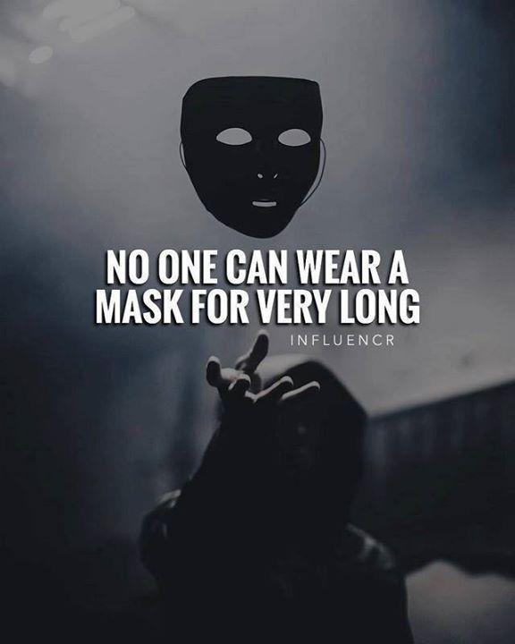 no one can wear a mask for very long i wish you would