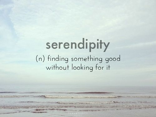 serendipity words quotes quotes favorite words