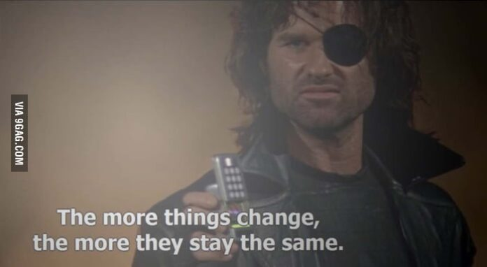 snake plissken i love this quote always relevant 9gag