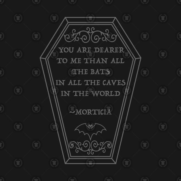 coffin quote morticia ravenwake