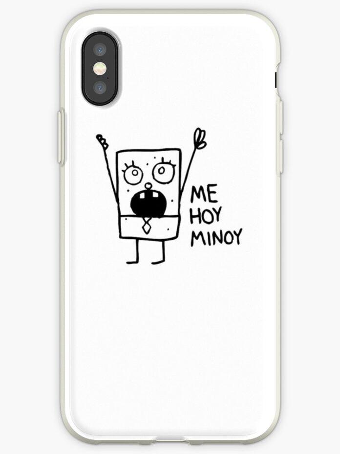 doodlebob meme iphone hlle cover von bobharlem