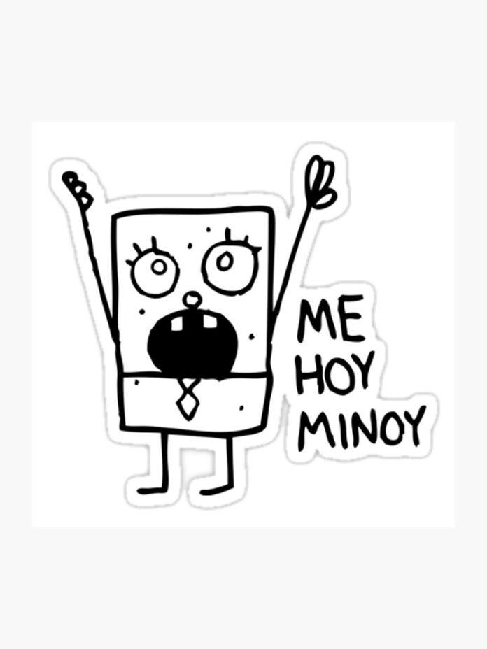 doodlebob mich hoy minoy fotodruck