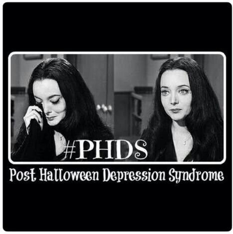 halloween quotes morticia addams and i suffer from phds