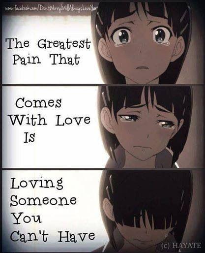 sad but true anime love quotes anime amino