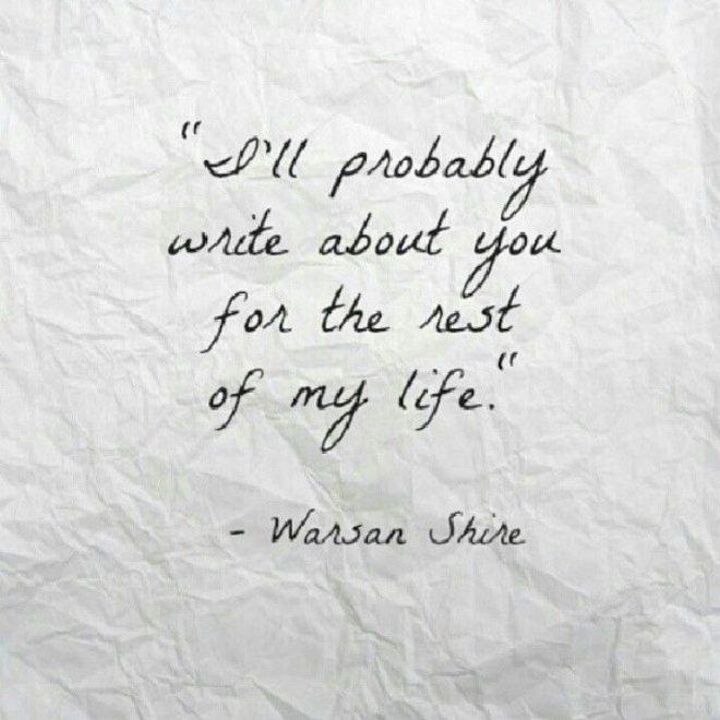 Warsan Shire Quotes - Comicspipeline.com