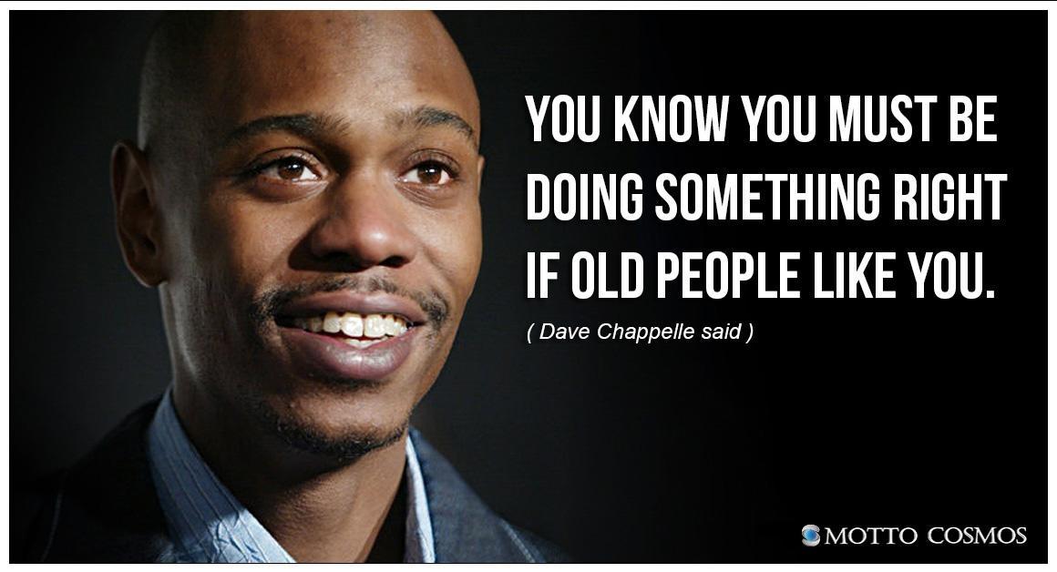 Dave Chappelle Quotes - Comicspipeline.com