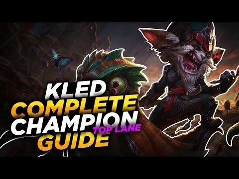 kled charging into battle league of legends champion guide season 7