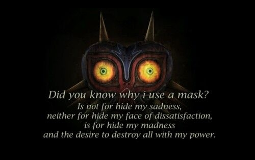 majoras mask quote legend of zelda quotes legend of