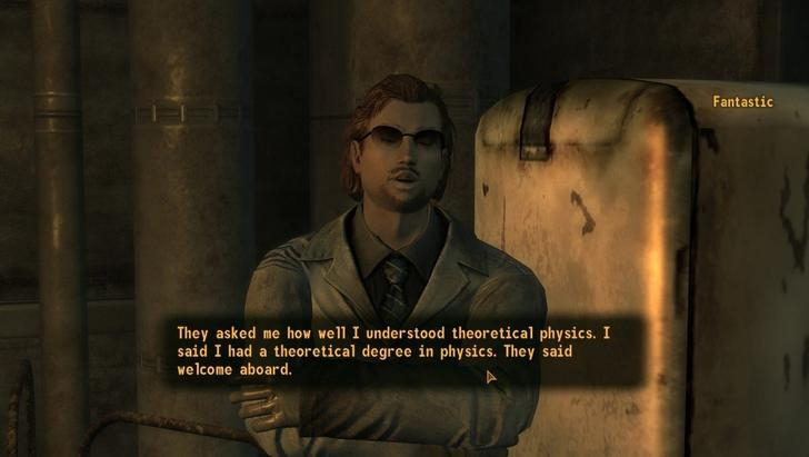 the best quotes from fallout 3 new vegas from dorkly