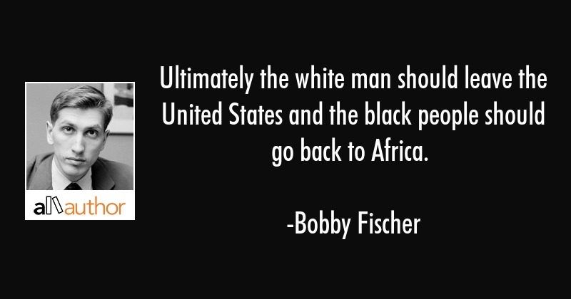 ultimately the white man should leave the quote