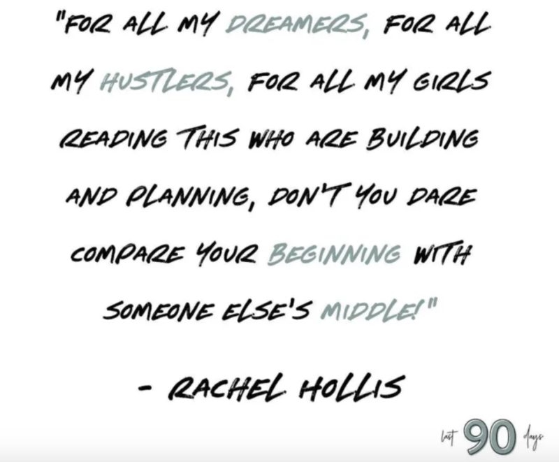 girl wash your face author rachel hollis is being accused