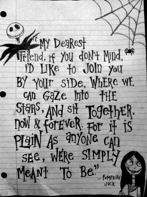 image about quotes in the nightmare before christmas