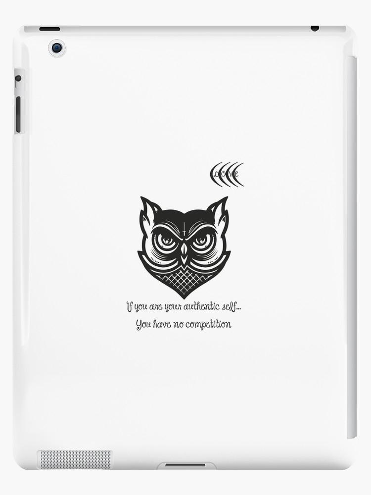 inspirational owl quotes ipad caseskin joulsz