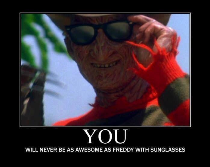 nope freddykrueger funny horror horror movies memes
