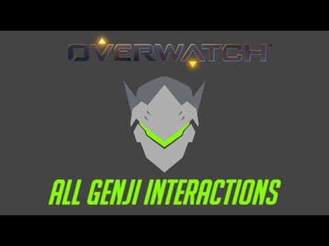 overwatch all genji interactions v2 unique kill quotes