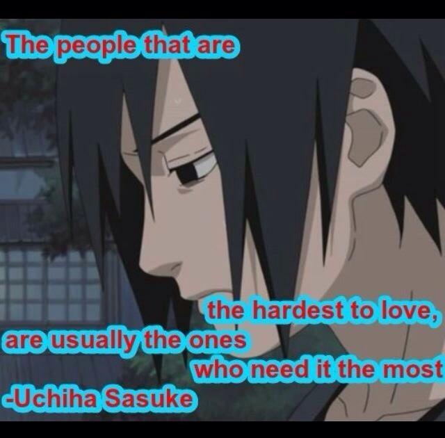 sasuke uchiha quote this is the truth sasuke uchiha