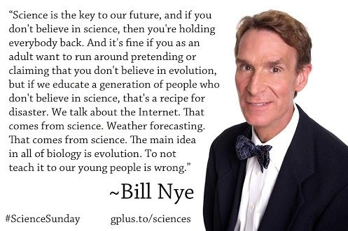 bill nye quote on evolution quotes science guy bill nye