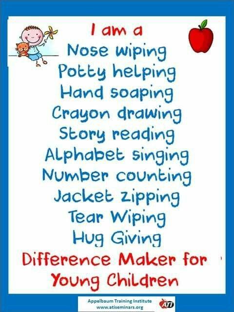 difference maker preschool teacher quotes preschool