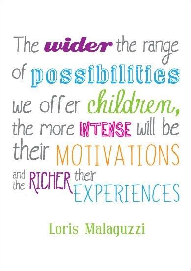 inspirational quotation poster loris malaguzzi 3
