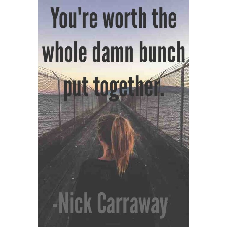 nick carraway quotes the great gats gats quotes