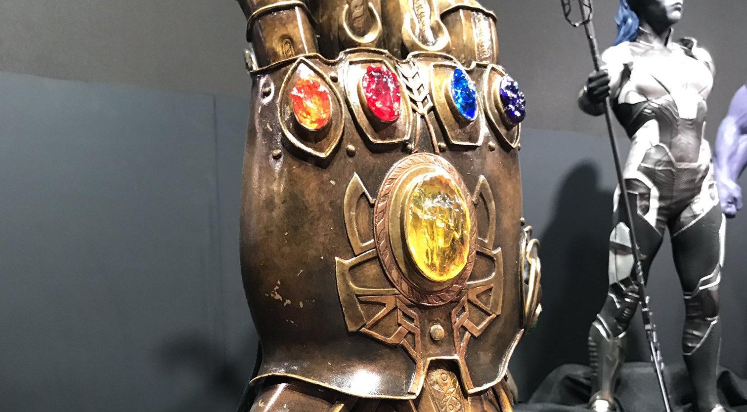 Avengers: Infinity War, il Guanto dell'Infinito nel ...