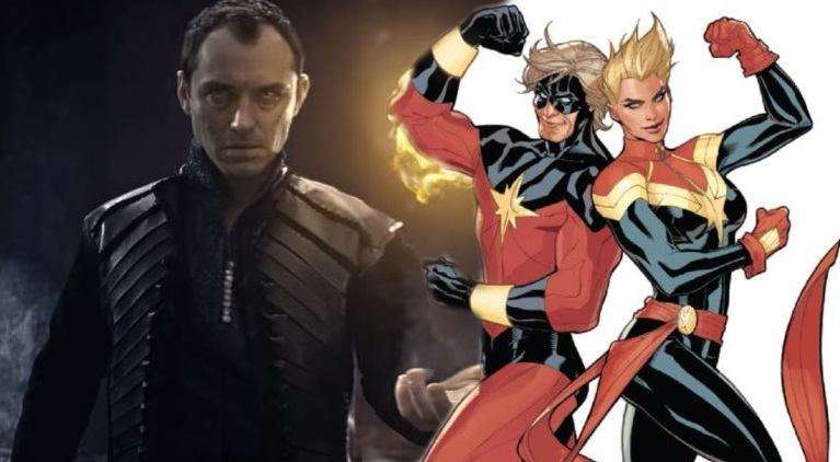 Captain Marvel: Jude Law in trattative come protagonista maschile
