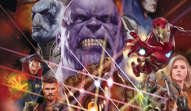 Preludio a fumetti di Avengers: Infinity War