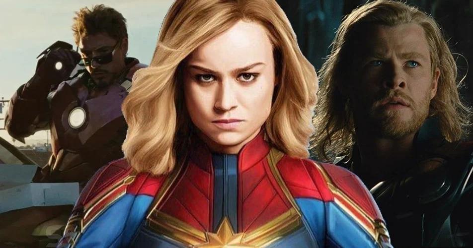 Captain Marvel Brie Larson Marvel Studios