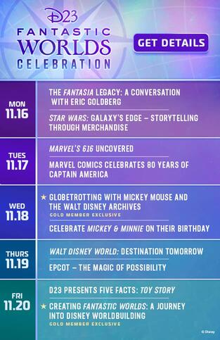D23 Fantastic Worlds Marvel