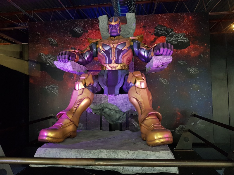 Avengers S.T.A.T.I.O.N. Thanos Eternals