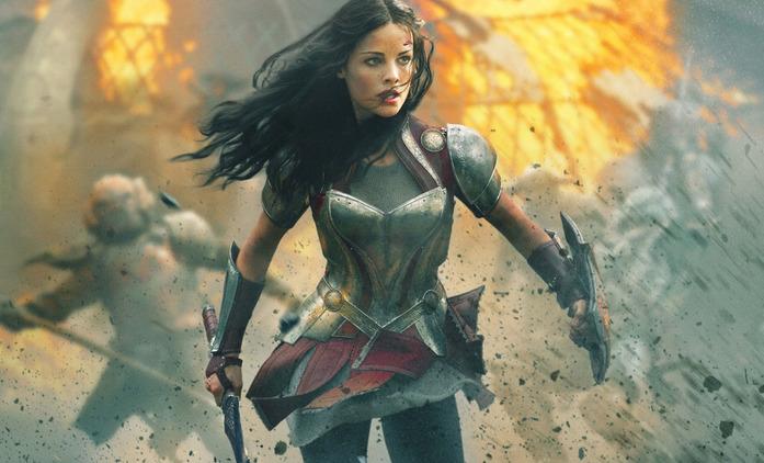 Loki Lady Sif Jaimie Alexander