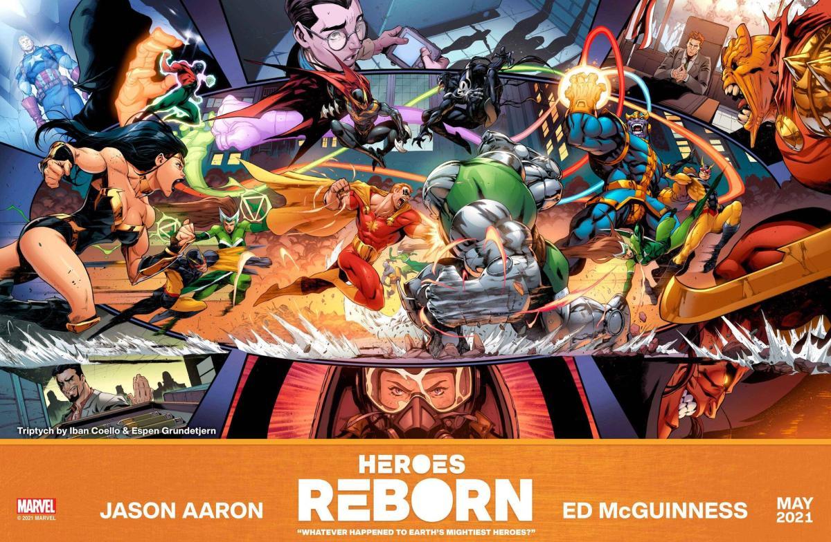 Heroes Reborn Marvel