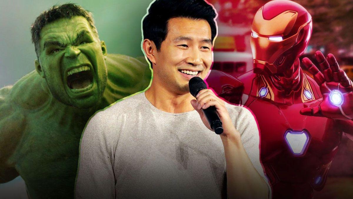 Simu Liu Shang-Chi Hulk