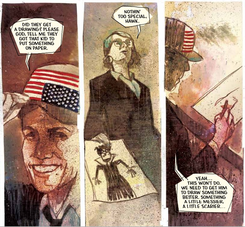 Subliminal Advertising and More Evil Imaginary Tricks in Department of Truth  #9 - ComicsXF