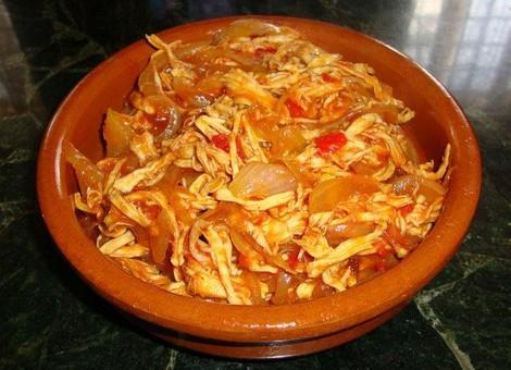 Recetas  TINGA DE POLLO  La primera red social de comida