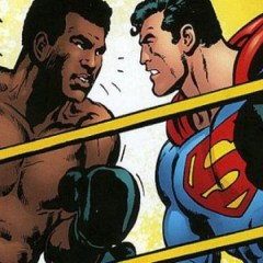 Crossing over/ Superman vs Muhammad Ali