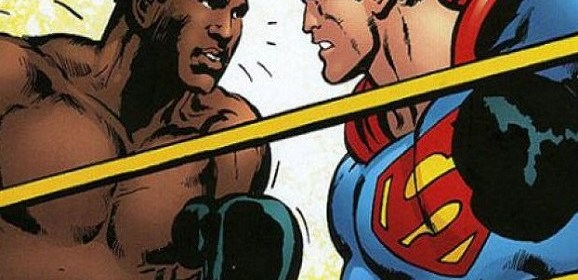 Crossing over/ Superman vs Muhammad Ali