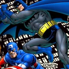 Crossing Over: Batman and Captain America