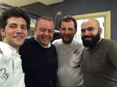 Valentino Tafuri- Valerio Salvatore-Paolo De Simone-Gennaro Coppetta