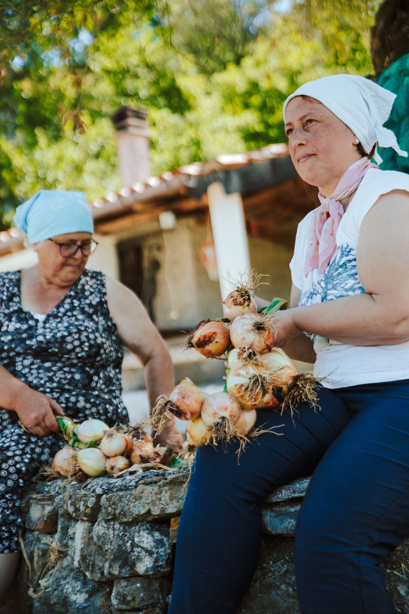 Produttrici di cipolla di Vatolla