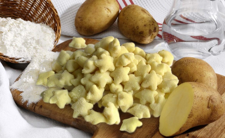 Gnocchi di patate stelline