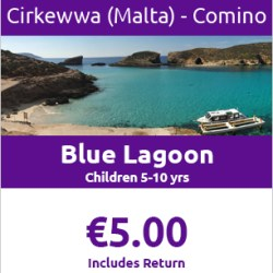 CIRKEWWA to COMINO Return