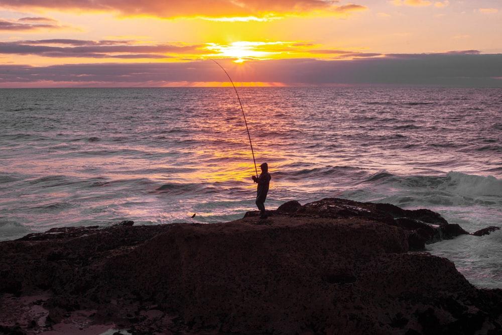Fishing in Comino