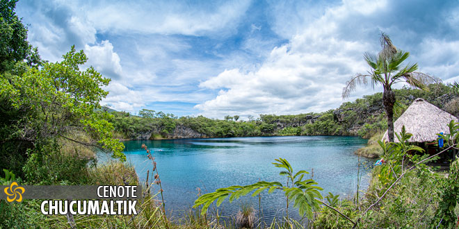 Cenote Chucumaltik en Chiapas