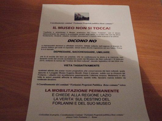 Il  Museo del Forlanini  non si tocca