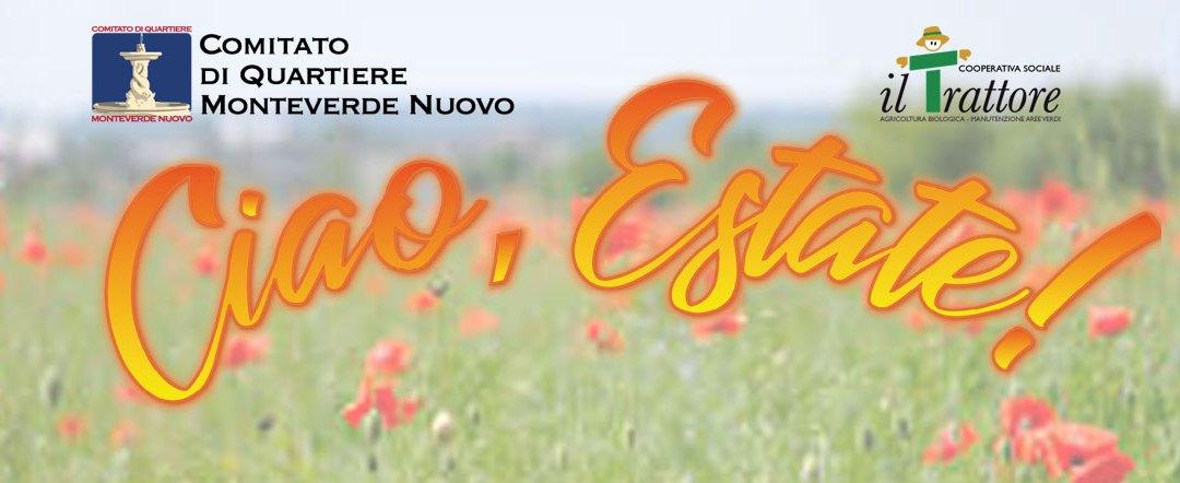 """""""Ciao Estate!"""". Festa di fine estate 2019"""