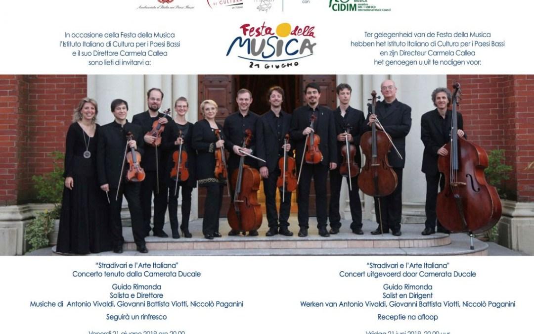 """Concerto della Camerata Ducale: """"Stradivari e l'Arte Italiana"""""""